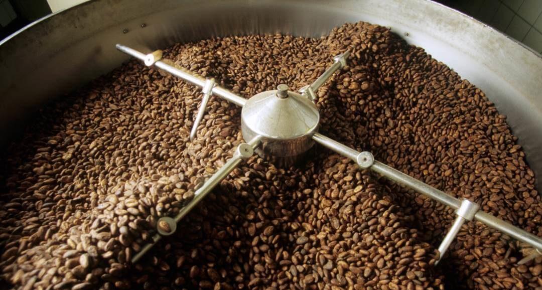 Kakaovermahlung leicht gestiegen