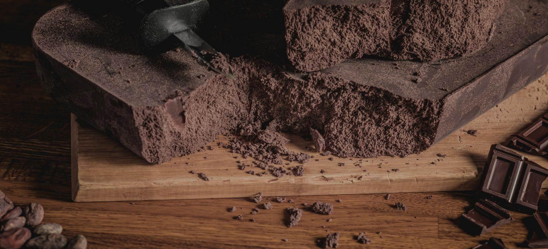 Das Frische Aroma von neuer Schokolade