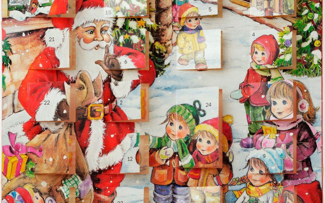 Mit dem Adventskalender in die Vorweihnachtszeit